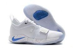 3e0029576d12 Nike PG 2. 5 Sony PlayStation White Multi-Color Men s Basketball Shoes Male  Sneakers