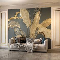 Painting Wallpaper, Photo Wallpaper, Wallpaper For Walls, Bedroom Wallpaper Murals, 3d Wallpaper Home, Cleaning Walls, Luxury Wallpaper, Leather Pattern, Luxurious Bedrooms