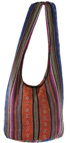 Hand Woven Hmong Hippie Boho Hobo Crossbody Shoulder Bag Messenger Purse HM08