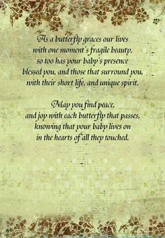 Butterfly Miscarriage Poem