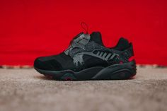 "Crossover x PUMA Disc Blaze ""Rose Red"""