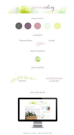 Branding + Blog Design for WordPress Food Blog   Lix Hewett Design