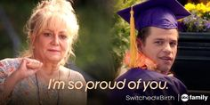 This moment made me cry so hard! Travis's Mom shows up to his graduation & signs to him for the time! Switched At Birth season finale. Switched At Birth Quotes, Movies Showing, Movies And Tv Shows, Step Up Revolution, Netflix, Chad Michael Murray, Abc Family, Tv Show Quotes, The Fault In Our Stars