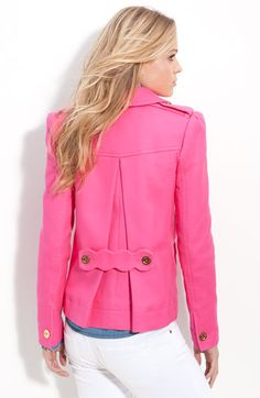 Juicy Couture Double Breasted Crop Trench