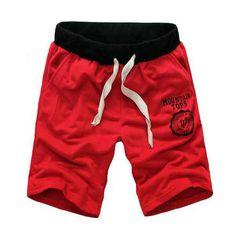 Mens moda sport casual gimnasio sueltos pantalones cortos corriendo bermudas - Banggood Móvil