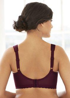 4cc97cba563b0 Glamorise Women s Soft Shoulders Minimizer Bra  1135 at Amazon Women s  Clothing store  Minimizer Bras. Glamorise Women s Plus Size Magic Lift ...
