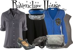 Inspired by Ravenclaw House at Hogwarts in the Harry Potter film franchise.