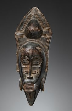 Africa | Mask from the Senufo / Ligbi people of Ivory Coast | Wood  || 1st May 2014 Catalogue