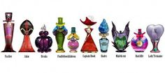 These do not exist...yet. How awesome though? Disney villain perfume bottles?!