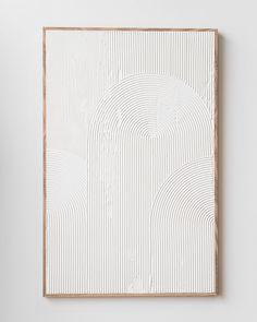 Diy Wall Art, Diy Art, Textured Canvas Art, Neutral Canvas Art, White Canvas Art, Textured Painting, Abstract Canvas Art, Cuadros Diy, Plaster Art