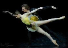"yoiness:  Kristina Kretova and Semyon Chudin, ""Classical Symphony"", Bolshoi Ballet Photographer Irina Tuminene"