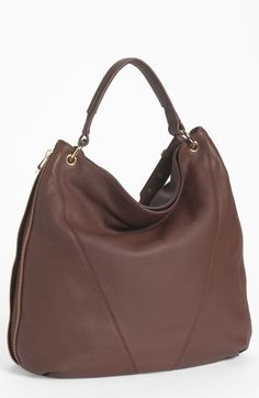 Pour la Victoire 'Lauren' Hobo available at #Nordstrom - I love the bag and it comes in aubergine!  Gotta love that!