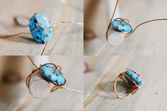PINTEREST.JEWELRY   Supplies: Wire, large beads, jewelry pliers, and a wooden rod the same ...