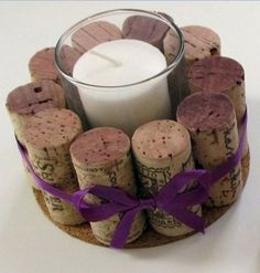 Easy Christmas Crafts - Tea Light Holder - Click Pic for 22 Fun Wine Cork Projec. - Easy Christmas Crafts – Tea Light Holder – Click Pic for 22 Fun Wine Cork Projects - Wine Craft, Wine Cork Crafts, Wine Bottle Crafts, Wine Cork Candle, Wine Cork Art, Easy Christmas Crafts, Simple Christmas, Thanksgiving Crafts, Christmas Christmas
