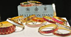 We can't seem to keep enough Halcyon Days bracelets in stock at G. Thrapp