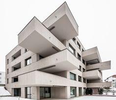 Gallery of MFH Dali Rain / dolmus Architekten - 1