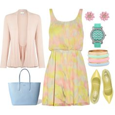 Untitled #591 by dogloverfashionlover19330 on Polyvore featuring polyvore, fashion, style, Alice + Olivia, Kaliko, Rodo, Lacoste and clothing
