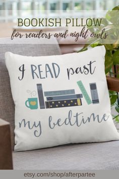 Book lovers are notorious for reading way past their bedtime. Make reading more comfy with this lovely plush pillow. Book Lovers Gifts, Book Gifts, Book Club Questions, Book Club Recommendations, Book Club Reads, Past My Bedtime, Book Pillow, Book Sleeve, Book Nooks
