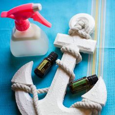 Learn how to make your own homemade salt spray with Lemon and Rosemary essential oils to help you achieve the perfect beach waves at home.