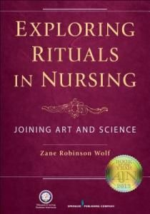 """Examines nursing as a cultural system through purposeful reflection on selected nursing rituals"" (xiii)."