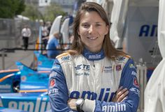 Simona de Silvestro for Like a Woman Series. Simona is one of the few professional female race car drivers. Currently she is driving for the Andretti Autosport Team in Formula E.