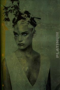 Natalia Vodianova & Tanga Moreau photographed by Paolo Roversi - Vogue Italia: September 1997 - Platinum