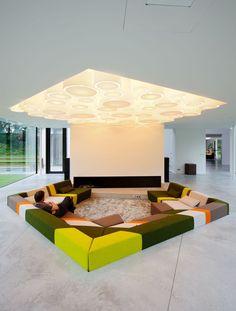 Long live the sunken lounge nook - Gallery of Villa 4.0, 't Gooi / Mecanoo - 18