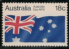 Australian Flag Australia Day, Western Australia, Vintage Signs, Vintage Posters, Ticket Card, Australian Flags, Small Art, Penny Black, Stamp Collecting