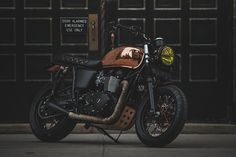 If you're going to customize a Triumph Bonneville Standard, you might as well go for broke. This Ducati Miss Moneypenny Triumph Bonneville Motorcycle is a collaboration between Marcos Martines and Ducati Triumph NYC that was hatched when a client wanted...