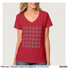 Your Custom Women's Hanes Nano V-Neck T-Shirt