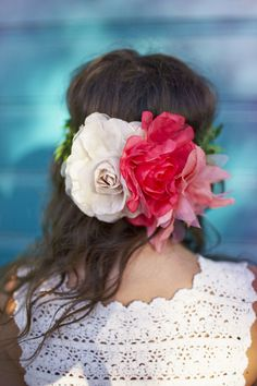floral headband, by emma dime