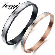 fashion punk  316L stainless steel  cuff bracelet women couple bangle Charm Bracelets & Bangles Wedding Accessories Jewelry 704