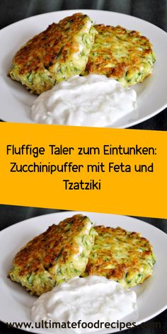 Mary Recipe, Zucchini Puffer, Clean Eating, Healthy Eating, Low Fat Yogurt, Tzatziki, Balanced Meals, Healthy Protein, Good Healthy Recipes
