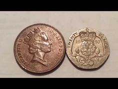 Rare and Expensive UK Coins of Queen Elizabeth 2 of 1997 Old Coins Worth Money, Old Money, Rare Coin Values, Old Coins Value, Valuable Coins, Coin Art, Coins For Sale, World Coins, Pennies