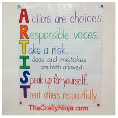 http://www.thecraftyninja.com/wp-content/uploads/2012/04/artist-classroom-poster-rules.jpg