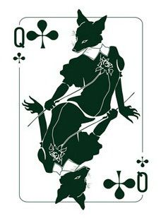 Binth Joker Playing Cards The Queen of Clubs