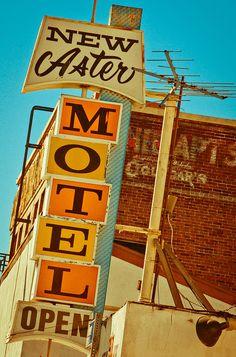 New Aster Motel by TooMuchFire, via Flickr