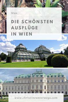 Wien hat unglaublich viel zu bieten! Hier findest du die schönsten und interessantesten Ausflüge in der österreichischen Bundeshauptstadt. Travel Tips, To Go, Adventure, World, City, Tricks, Building, Nature, Group