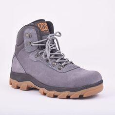 Boots Hiker Gray