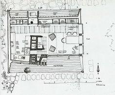 Hacedor de Trampas: Ralph Erskine y su cabaña