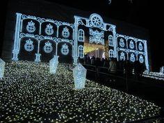 [HD]関東最大イルミネーション さがみ湖イルミリオン Christmas illuminations Japon Tokyo, Neon Signs, Japan, Amazing, Christmas, Xmas, Japanese Dishes, Weihnachten, Navidad