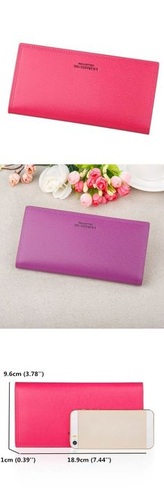Women candy color long wallets casual purse card holder coin bags wallets with zippers #apt #9 #wallets #c #amp; #b #wallets #wallets #that #fit #iphone #7 #plus #wallets #zelda #ocarina #of #time