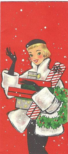 What Kate-Em did next.: Top Ten outfits from vintage Christmas cards.