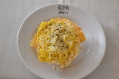 Ristorante ROMA SPARITA in Roma | Cucina Romana a Trastevere apparently the cacio e pepe is a meal you must have in your lifetime.