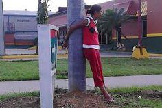 osCurve   Contactos : La razón por la que amarraron a esta #hondureña...