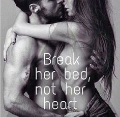Passion will break the bed, our hearts are one , King protects his Queen and the Queen protects her King ....