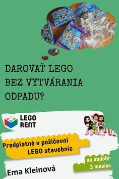 Dá sa darovať niekomu Lego tak, aby ste nevytvorili odpad? Dá! Pre dievčatá aj pre chlapcov, ale aj pre dospelákov, ktorí potrebujú zrelaxovať. Lego, Tips, Legos