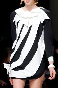 Moschino at Milan Fashion Week Fall 2013