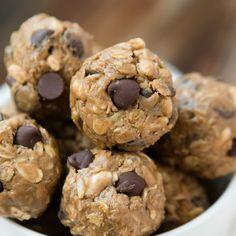 Protein No Bake Chocolate Energy Bites