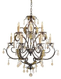 Heirloom Chandelier Lighting | Currey & Company